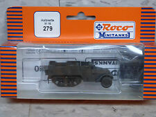 Roco / Herpa Minitanks (NEW) WWII  US M-16 Halftrack w/Quad Fifty MG Lot #1156