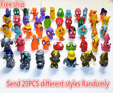 Lot of 20 ZOMLINGS Monster Zombie Figures Kids Toys FREE SHIPPING
