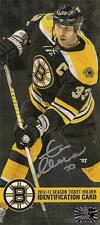 Zdeno Chara Boston Bruins Signed Autographed 2012-2013 Season Ticket Renewal ID