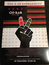 Spike Lee's CHI-RAQ Movie Promo Poster SET 13x20 - Teyonah Parris