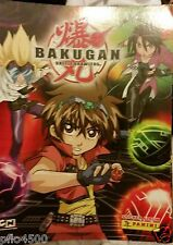 BAKUGAN BATTLE BRAWLERS STICKER ALBUM BRAND NEW & FULL BOX 50 PACKS OF STICKERS