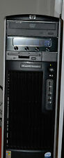 Workstation HP xw6400 2 X Intel Xeon 2.66ghz Dual Core CPU/RAM 16gb HDD/250gb