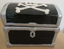 Pirate's Storage Box - Mini Treasure Pottery Chest