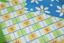 SHABBY CHIC Vintage BETTWÄSCHE Garnitur fabric STOFF 70er 70s Baumwolle cotton
