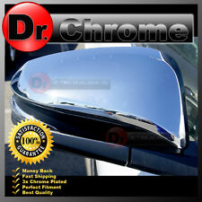 2014-2015 Toyota 4RUNNER for with Turn Signal Triple Chrome Mirror Cover 15 Kit