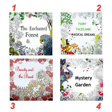 Painted Coloring Book Books Adult Children Graffiti Secret Garden English