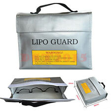 LiPo Safe Battery Guard Charging Protection Bag Explosion Proof 240X65X180mm New