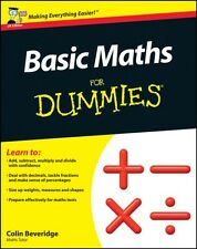 Basic Maths For Dummies (UK Edition) (Paperback), 9781119974529, Beveridge, Col.