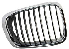 BMW 3 SERIES E46 98-01 SALOON ESTATE FRONT RIGHT GRILLE KIDNEY CHROME BLACK