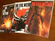 the EVIL WITHIN #1,2,3 (2014) TITAN Bethesda NM 1st print lot VIDEO GAME based