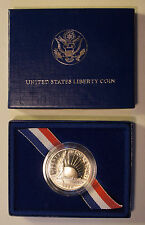 1986 - UNITED STATES MINT - THE LIBERTY HALF DOLLAR COIN - Original Box
