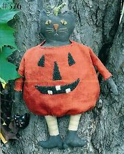 New Craft Sewing Pattern by Country Stitches (Brenda Gervais):  Spook (Pumpkin)