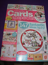 SIMPLY CARDS & PAPERCRAFT CRAFTS MAGAZINE ISS 128 147 IDEAS POPPIES CHRISTMAS
