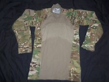 MULTICAM MASSIF GEAR SHIRT COMBAT MEDIUM nwot MADE USA MILITARY ISSUE FR ACU awl