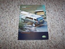 2008 Land Rover LR2 HSE & SE Factory Navigation System Owner Manual Book