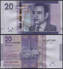 MARRUECOS MOROCCO 20 dirhams 2012 2013  Pick new SC / UNC