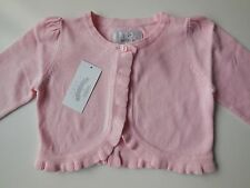 GYMBOREE BABY TODDLER GIRL PINK CARDIGAN BOLERO SIZE 1 FITS 12-18M *NEW *GIFT