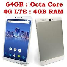 "NEW TECA LTE850 4G OCTA CORE 4GB-RAM 64GB 7"" Full-HD ANDROID 6.1 TABLET PHONE x"