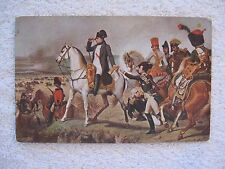 Napoleon at Wagram Postcard Les Editions Nomis, Paris Printed in France