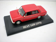 1/43 COCHE SEAT 1430 ROJO 1970 Fiat metal model car 1:43 miniatura a escala !!!