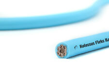 KnuKonceptz Kolossus Kandy 1/0 Gauge Blue OFC Power Wire TRUE AWG Copper Cable