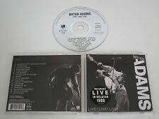 BRYAN ADAMS/LIVE! LIVE! LIVE!(A&M 397 094-2) CD ALBUM