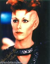 "Julie Caitlin Brown Colour 10""x 8"" Signed Babylon 5 'Vekor' Photo - UACC RD223"