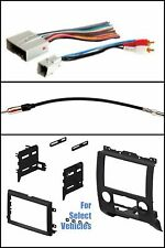 Double Din Radio Kit Combo for 2008-2011 Ford Escape Mazda Tribute Merc Mariner
