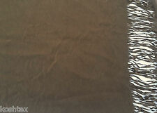 Moleskin (Suede) Fabric by the Yard - COLT One Side Fringe Satin Backed (Cowboy)