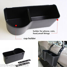 Autos Headrest Seat Back Mount Organizer Drink Cup Holder Storage Box Universal