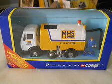 Corgi Streetsweeper with MHS Highway Hire
