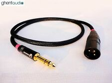 "C03 (1.5m 5ft) --- 6.35mm Jack (1/4"") TRS(male) to Balanced XLR(male) 4N-OFC"