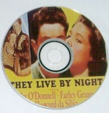 FILM NOIR: R2 THEY LIVE BY NIGHT Nicholas Ray, Cathy O'Donnell, Farley Granger