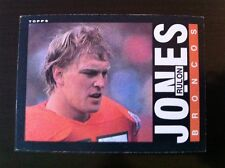1985 Topps RULON JONES #243 Denver Broncos   Utah State