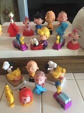 Charlie Brown The Peanuts Gang Christmas Ornaments Lot 16 pcs Snoopy Linus