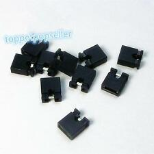 100Pcs 2.54mm Male Pin Header Strip 2.54mm Standard Mini Jumper Black