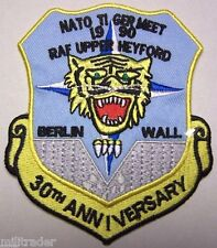 NATO Tiger Meet (NTM) Upper Heyford 30th Aniversary Patch (Iron-on)