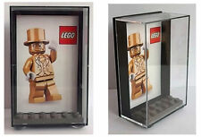Lego Mr Gold Plastic Display Case - keep your minifigure safe and dust free!