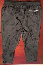 Columbia Omni Tech Packable Breathable Waterproof Black Rain Pants Men's XL