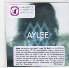 (GF396) Aylee, Learn To Swim - DJ CD