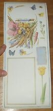 Marjolein Bastin NATURES GARDEN Retired BiG STiCKERS~COLORBOK Sheet~Journaling