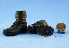 Figur 1/6 WW2 Deutsche Mountain Division Handschar Kommandant Boots Shoes FH_6D