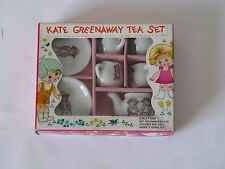 Vintage Kate Greenaway Doll Toy Tea Set, Still in Box