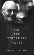 The Lee Strasberg Notes by Lola Cohen (2010, Paperback)