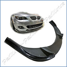 Fit BMW 04-10 E60 5-Series 528i 550i M-Tech Bumper H Type Carbon Fiber Front Lip