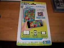 iTikes Stories in Motion Deep Sea Numbers Kids Animated Stories Book + APP NEW
