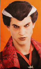 VAMPIRE WIG ADULT Dracula Mens Costume Hair Classic Traditional Monster NEW