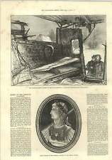 1875 Shipton On Cherwell Accident Carriage Cameo Emperor Claudius