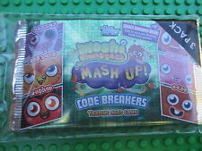 Moshi Monsters Mash Up Code Breakers Trading Card Game 3 Packs (6 Cards each)