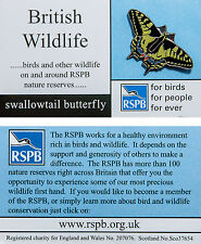 RSPB Pin Badge | Swallowtail Butterfly | British Wildlife fbfpfe card [00576]